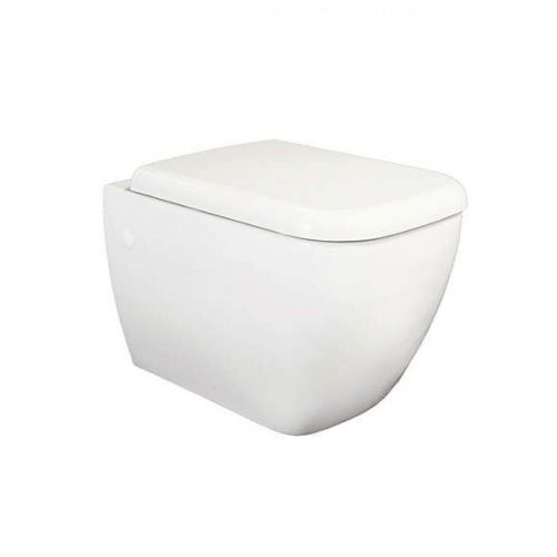 RAK Metropolitan Wall Hung Toilet WC with Wrap Over Toilet Seat